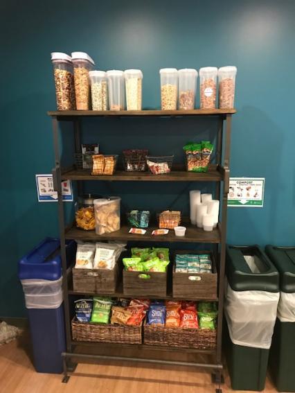 Image of snack racks